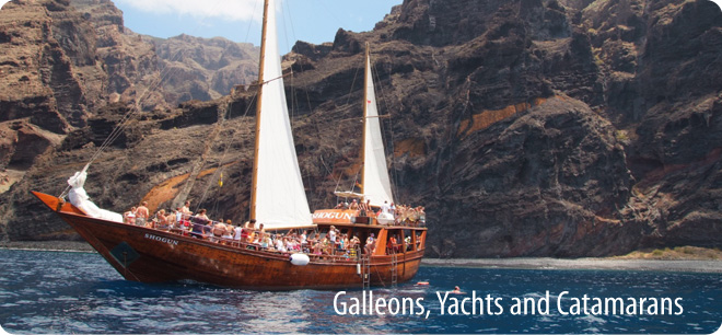 Tenerife Sunshine Excursions - Galleons, Yachts & Catamarans